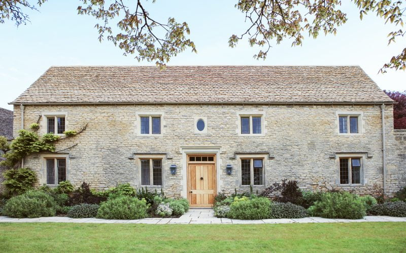 Redevelopment by Corinium Construction: The Stable Barn in Gloucestershire